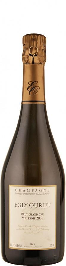 Champagne Grand Cru Millésimé brut - degorgement Nov. 2014 2005  - Egly-Ouriet