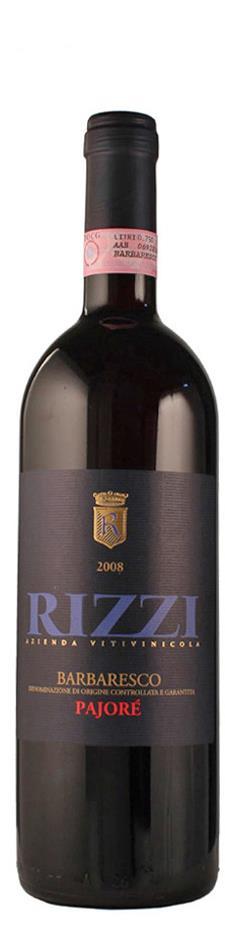 Rizzi Barbaresco Pajore 2008 trocken Piemont Italien