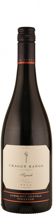 Syrah Gimblett Gravels 2013  - Craggy Range Vineyards