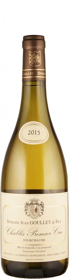 Domaine Jean Goulley Chablis Premier Cru Fourchaume 2015 - bio trocken Burgund Chablis Frankreich