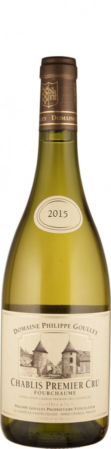 Domaine Philippe Goulley Chablis Premier Cru Fourchaume Réserve 2015 - bio trocken Burgund Chablis Frankreich