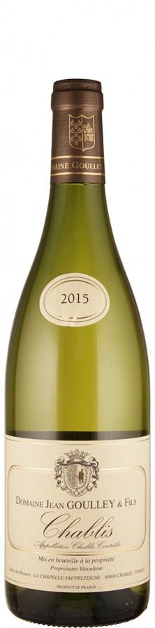 Domaine Jean Goulley Chablis 2015 - bio