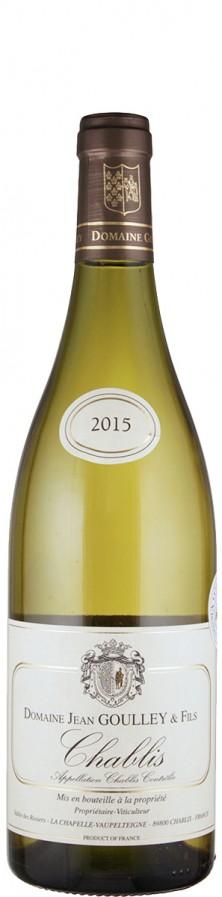Domaine Jean Goulley Chablis Vieilles Vignes 2015 - bio trocken Burgund Chablis Frankreich