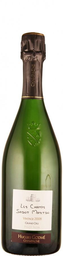 Champagne Premier Cru extra brut Millésime Les Champs Saint Martin 2008  - Godmé, Hugues