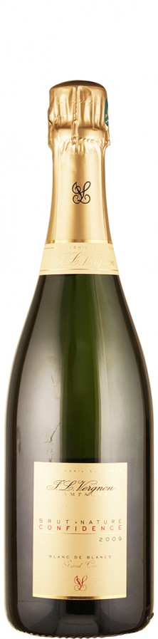 Champagne Grand Cru blanc de blancs brut nature Confidence 2009  - Vergnon, J. L.