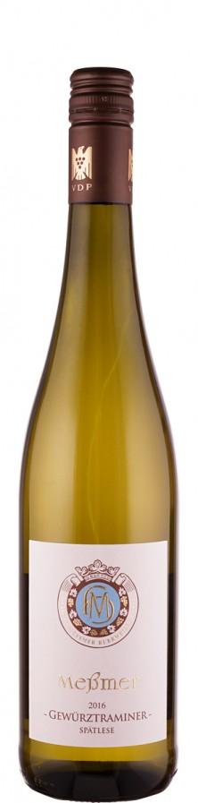 Weingut Meßmer Gewürztraminer Spätlese Burrweiler Altenforst 2016 lieblich Pfalz Deutschland
