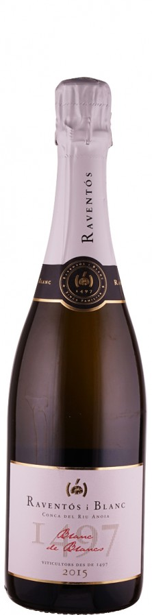 Raventós i Blanc Cava Blanc de Blancs brut 2015 brut Penedes D.O. Spanien