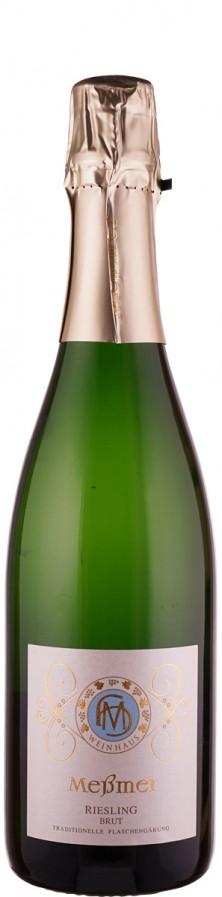 Weingut Meßmer Winzersekt Riesling brut Traditionelle Flaschengärung 2014 brut Pfalz Deutschland