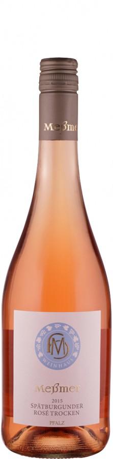 Weingut Meßmer Spätburgunder Rosé 2015 trocken Pfalz Deutschland