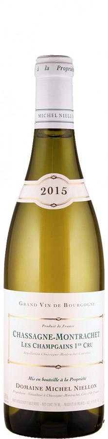 Chassagne-Montrachet Premier Cru Les Champgains 2015  - Domaine Michel Niellon