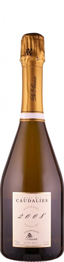 Champagne De Sousa et Fils Champagne Grand Cru extra brut Cuvée des Caudalies 2008 - FR-BIO-10 extra brut Champagne - Côte des Blancs Frankreich