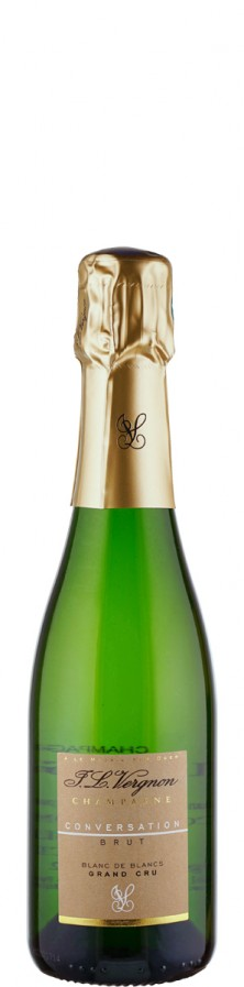 Champagne Grand Cru blanc de blancs brut Conversation - halbe Flasche   - Vergnon, J. L.