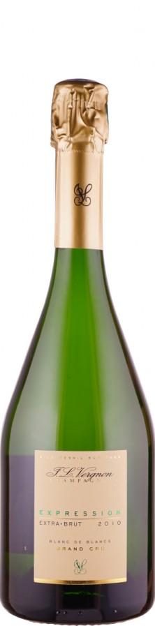 Champagne Grand Cru blanc de blancs extra brut Expression 2010  - Vergnon, J. L.