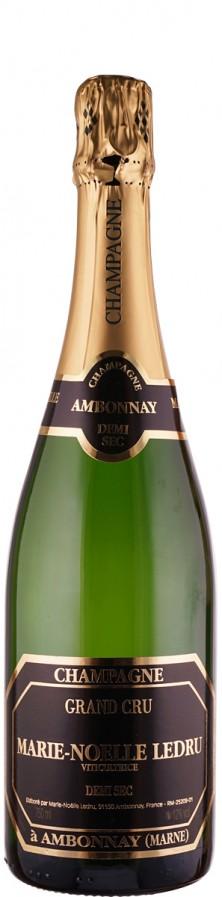 Champagne Grand Cru demi sec    - Ledru, Marie-Noelle