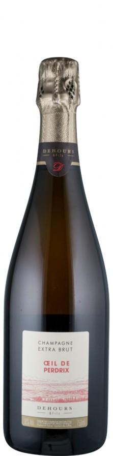 Champagne Rosé extra brut Oeil de Perdrix   - Dehours et Fils