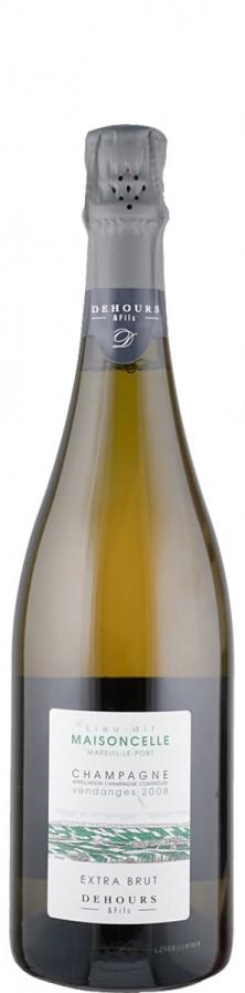 Champagne Blanc de Noirs extra brut Lieu-dit Maisoncelle 2008  - Dehours et Fils