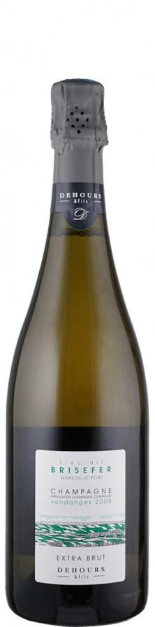Champagne Blanc de Blancs extra brut Lieu-dit Brisefer 2008  - Dehours et Fils