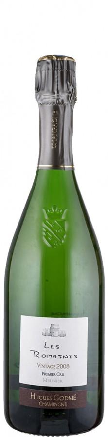 Champagne Premier Cru extra brut Millésime Les Romaines 2008  - Godmé, Hugues