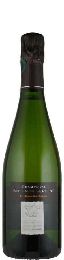 Champagne Premier Cru extra brut Le Chemin des Chappes   - Sergent, Guillaume