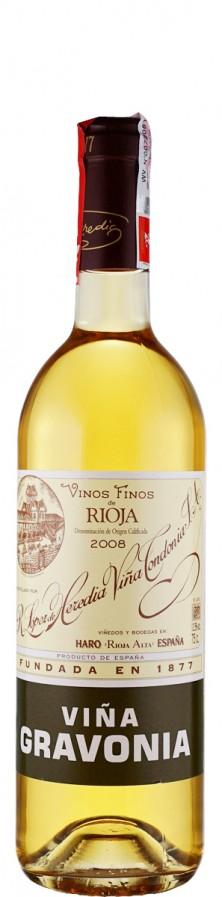 Vina Tondonia Rioja Crianza blanca Vina Gravonia 2008 trocken Rioja D.O.Ca. Spanien