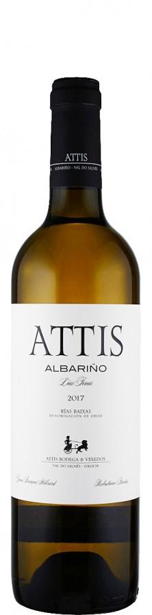 Attis Bodegas Attis Albarino 2017 trocken Rias Baixas D.O. Spanien