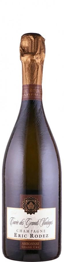Champagne Grand Cru brut Cuvée des Grands Vintages - degorgiert Dezember 2017   - Rodez, Eric