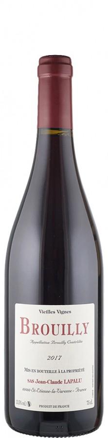 Domaine Jean-Claude Lapalu Beaujolais Brouilly Vieilles Vignes 2017 trocken Beaujolais Frankreich