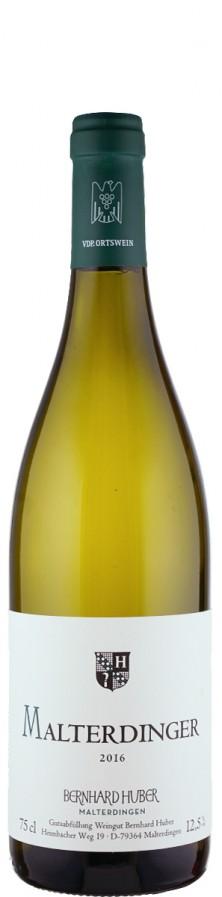 Weißer Burgunder & Chardonnay Malterdinger 2016  - Huber, Bernhard