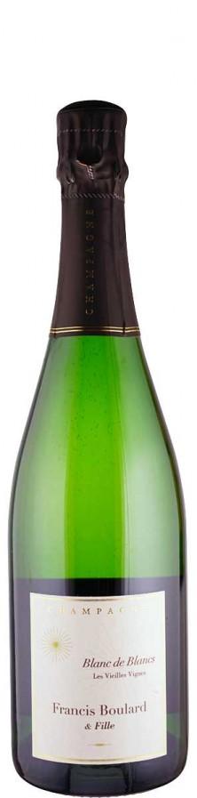 Champagne Blanc de Blancs brut nature Les Vieilles Vignes 2014 FR-BIO-001 - Boulard & Fille, Francis