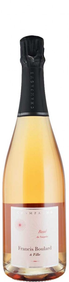 Champagne Rosé extra brut   Biowein - FR-BIO-001 - Boulard & Fille, Francis