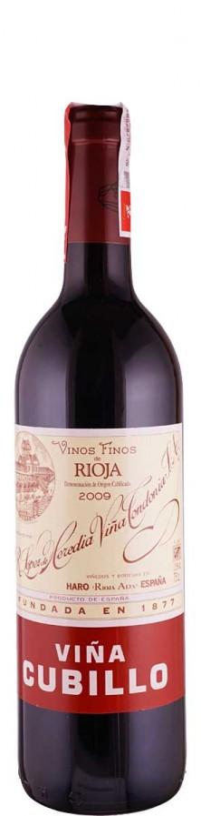 Vina Tondonia Rioja Crianza tinto Vina Cubillo 2009 trocken Rioja D.O.Ca. Spanien