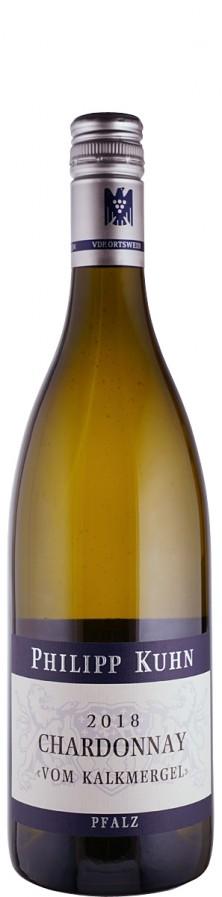 Weingut Philipp Kuhn Chardonnay trocken vom Kalkmergel 2018 trocken Pfalz Deutschland