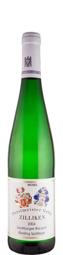 Weingut Forstmeister Geltz-Zilliken Riesling Spätlese Saarburger Rausch 2004 süß Mosel Deutschland