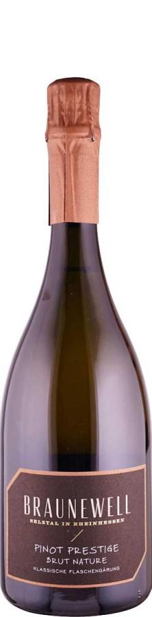 Prestige Pinot brut nature Sekt - traditionelle Flaschengärung 2014  - Braunewell