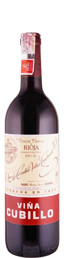 Vina Tondonia Rioja Crianza tinto Vina Cubillo 2010 trocken Rioja D.O.Ca. Spanien