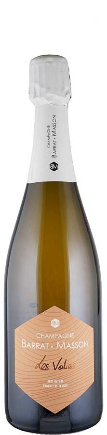 Champagne Blanc de Blancs brut nature Les Volies  - FR-BIO-01 - Barrat-Masson