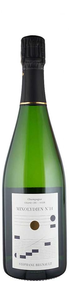 Champagne Grand Cru Blanc de Blancs extra brut Mode Mixolydien N° 14   - Regnault, Stephane