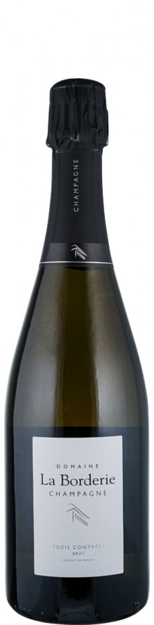 """Champagne brut nature """"3C""""- trois cepages  - FR-BIO-01 - Bourgeois Diaz"""