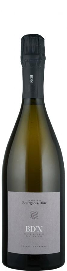 """Champagne Blanc de Noirs brut nature """"N""""   - Bourgeois-Diaz"""