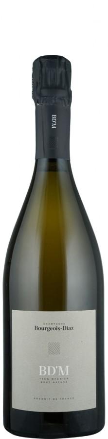 """Champagne Blanc de Noirs brut nature """"M""""  - FR-BIO-01 - Bourgeois Diaz"""
