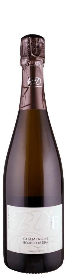 "Champagne Blanc de Blancs brut nature ""B""  - FR-BIO-01 - Bourgeois Diaz"