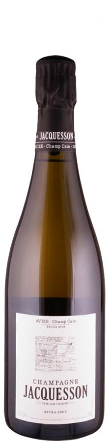"""Champagne Grand Cru Millésimé Blanc de Blancs extra brut Avize """"Champ Cain"""" 2008  - Jacquesson"""