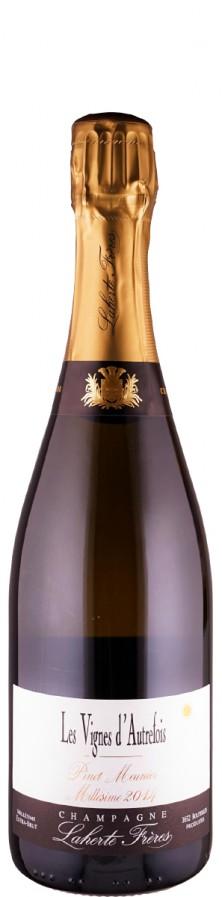 Champagne Vielles Vigne de Meunier, extra brut Les Vignes d'Autrefois 2014  - Laherte Frères