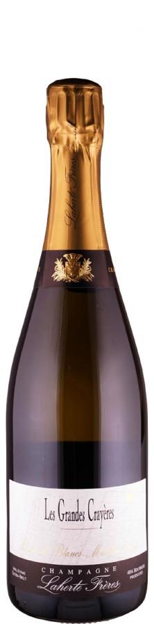 Champagne Blanc de Blancs, extra brut Les Grandes Crayères 2014  - Laherte Fréres