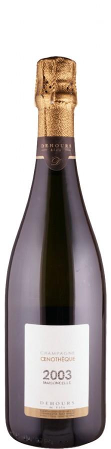 Champagne Dehours et Fils Champagne extra brut Blanc de Noirs Oenotheque Lieu-dit Maisoncelle 2003 extra brut Champagne - Vallée de la Marne Frankreich