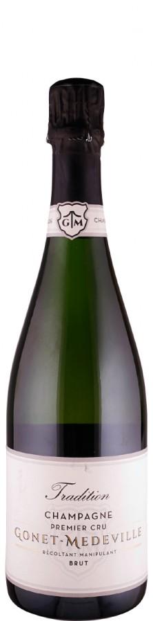 Champagne Premier Cru brut Cuvée Tradition   - Gonet-Médeville