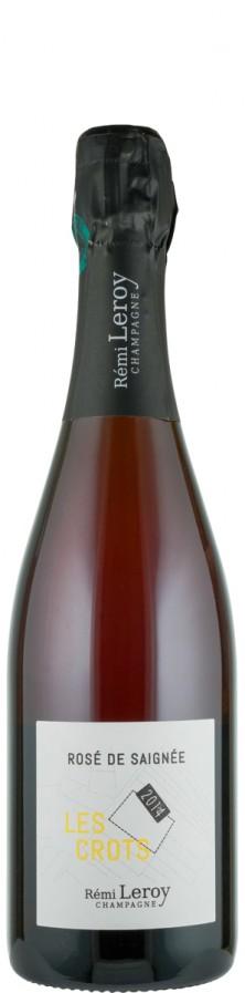 Champagne Rosé Saignée brut nature Les Crots 2014  - Leroy, Rémi