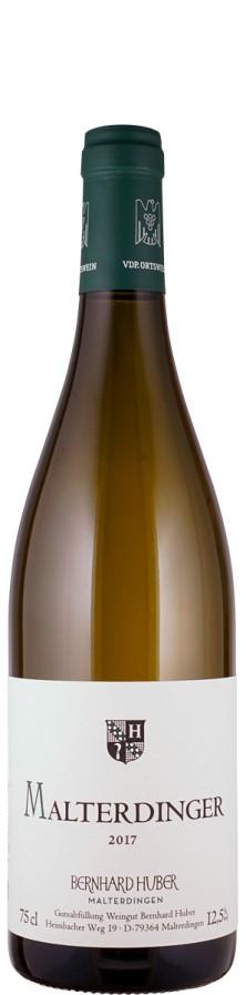 Weißer Burgunder & Chardonnay Malterdinger 2017  - Huber, Bernhard