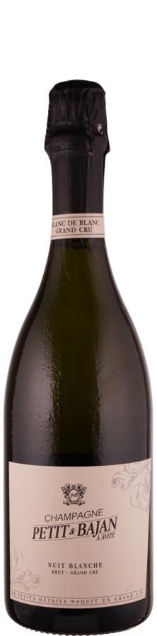 """Champagne Grand Cru blanc de blancs brut """"Cuvée Nuit Blanche""""   - Petit & Bajan"""