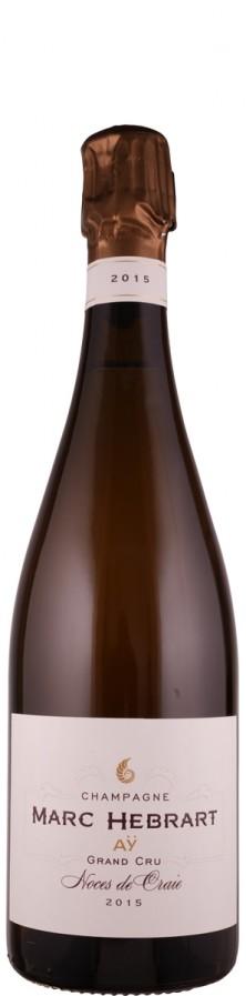 Champagne Grand Cru Blanc de Noirs brut Noces de Craie 2015  - Hébrart, Marc